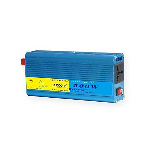 technaxx Wechselrichter 12V bis 220V Auto LKW Spannungswandler Inkl. Stecker für Zigarettenanzünder, USB-LadeanschlussAQD