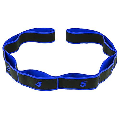 Yoga Strap Belt, Terapia Física Mejorar La Fuerza Cintas Elasticas, Duradera Y Cómoda Cinturón De Estiramiento - Aplicar para Estiramientos Diarios Fitness,C,1PCS