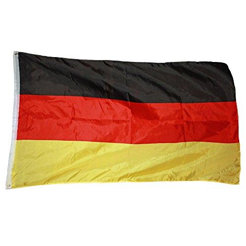 LEINWANDBILD BILD WANDBILD BILDER WANDBILDER CANVAS Deutschland Fahne 586 O1