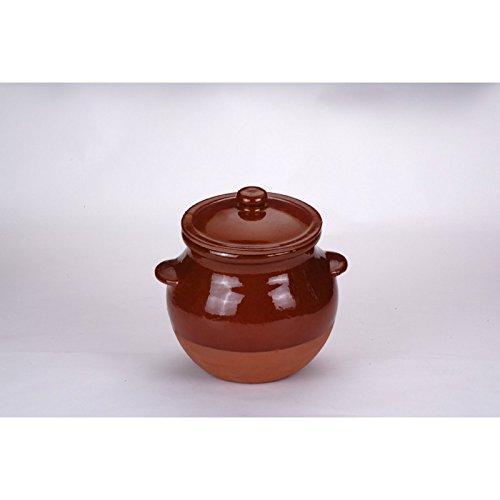Raimundo Sanchez O-6L - Olla coc 6.0lt c/tapa barro cocina tradicional