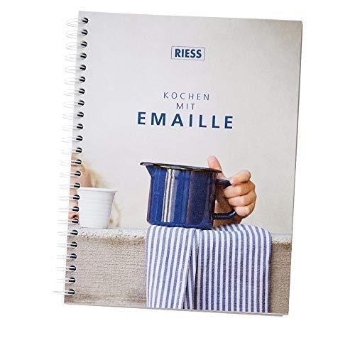 Riess 1960-000 Kochbuch Classic-Spezialartikel, Emaille, weiß
