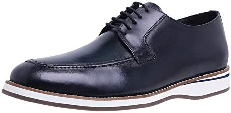 Men's Dress Shoes with Genuine Leather in Classic Oxford Formal Style Shoes for Men Pro Comfort