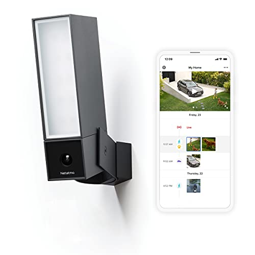 Security Camera Outdoor by Netatmo, Wireless Smart Security Camera, WIFI Enabled, Integrated...