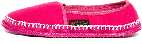 GIESSWEIN Hausschuh Paldau - leichte Baumwoll Slipper, Sommer Pantoffeln für Damen, Espadrilles aus Baumwolle, geschlossene Ballerinas Hausschuhe