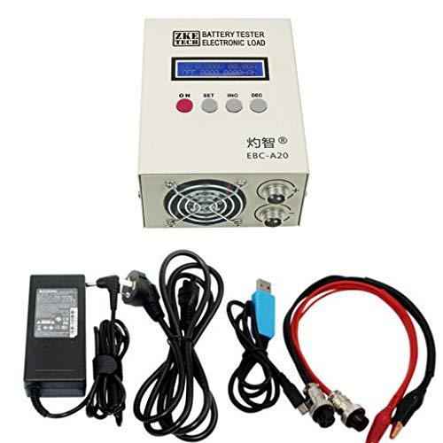 BIlinli EBC-A20 Batterietester 85W Lithium-Blei-Säure-Batterien Kapazitätstest 5A Ladung 20A Entladungsunterstützung PC-Softwaresteuerung