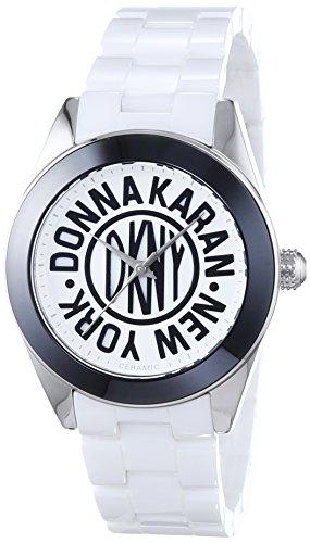 DKNY Damen-Armbanduhr Analog Quarz Keramik NY2154