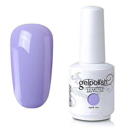 Elite99 Gel Nail Polish Soak Off UV LED Gel Lacquer Nail Art Manicure Thistle 465 15ml