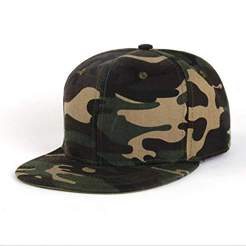 Sombrero De Moda Hip Hop Cap Tendencia De Moda Camo Gorra De Béisbol para Hombres Y Mujeres Camuflaje Flat Brim Snapback Hat Adulto