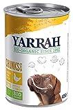 YARRAH Comida para Perros orgánica con Pollo, ortiga, Tomate, 405 g, 12 Unidades (12 x 405 g)