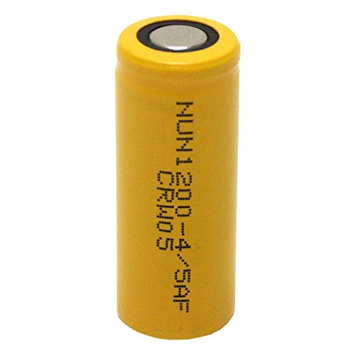 Nuon 01210 - 1.2 volt 1.1 amp NiCad Emergency Light Rechargeable Battery (NUN4/5A-2)