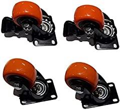 Archimax Wheel Casters with Brake Set of 4 Wheels (39 mm)
