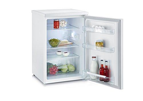 SEVERIN Tischkühlschrank, 137 L, 93 kWh/Jahr, Energieeffizienzklasse A++, KS 9818, Weiß