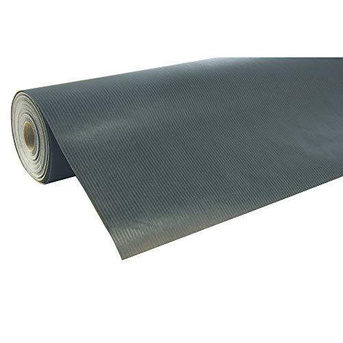Clairefontaine 507529C Rolle Geschenkpapier (50 x 0,7 m, spezielle Breite, Kraftpapier, strapazierfähig) 1 Stück schwarz