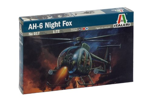 Italeri 510000017 - 1:72 AH-6 Night Fox