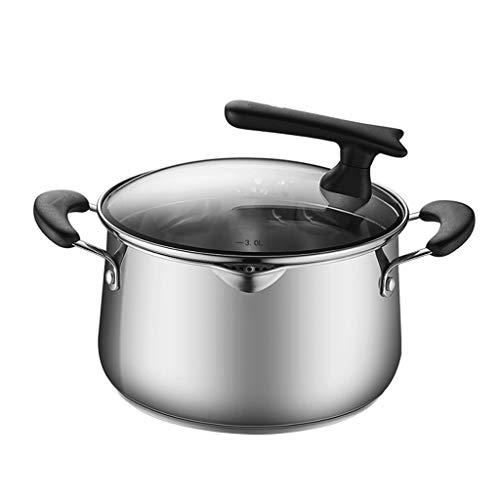 YAYA Soeppan, huishouden, kleine pan, kookpan, verdikte drum, type grote capaciteit, veilig gezonde coating, roestvrij staal, stokpot