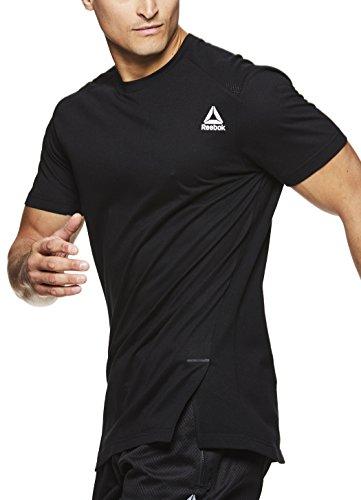 Mens Reebok Active Shorts Sleeve Tee
