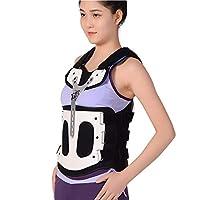 調整通気性腰椎装具サポート、男性女性胸腰部固定ブレース頸椎矯正装具装具の着用が容易