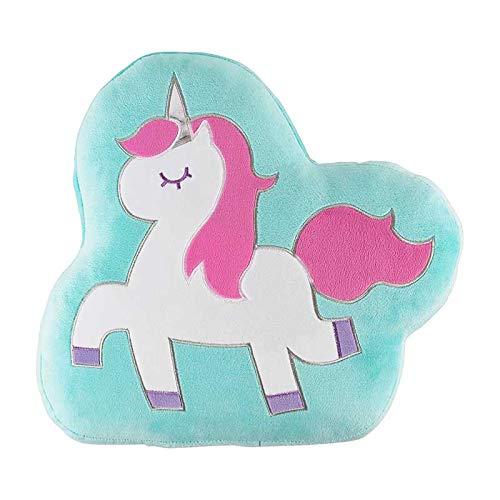 Vianney Cojín Decorativo Unicornio, para niña