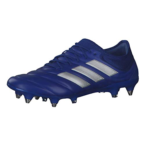 adidas Copa 20.1 SG, Zapatillas de fútbol Hombre, AZUREA/Plamet/AZUREA, 43 1/3 EU