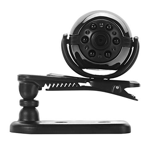 ORIYUKKI Minicámara de videovigilancia, DVR-HD, pequeñas cámaras de vigilancia HD de 1080p, con visión nocturna y detección de movimiento para interiores y exteriores