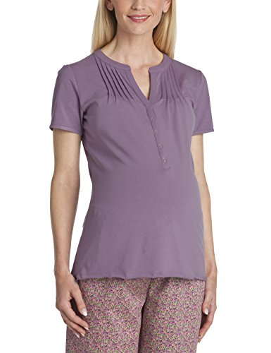 Anita Maternity Oberteil Isabell Haut De Pyjama Maternité, Mehrfarbig (Light Grape 592), 38 Femme