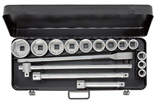 Elora 771-S12 MU Steckschlüssel-Satz 3/4 Zoll, Sechskant, 16-teilig 22-60 mm
