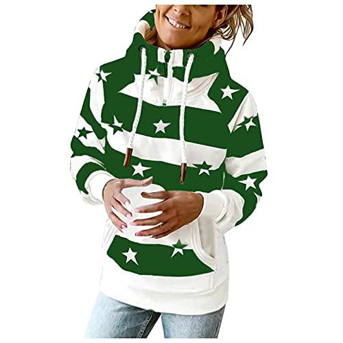 Berimaterry sudaderas capucha mujer invierno otoño hoodies baratos Jerséis mujer de cuelllo alto camisetas manga larga originales jersey con estampado de rayas chándal mujer cómodos