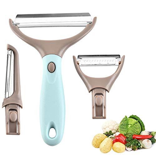 pelador tomate,pelador de patatas electrico,Pelador de Patatas,Pelador 3 en 1,Pelador Verduras Fruta...