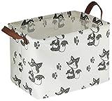 HIYAGON Rectangular Storage Box Basket Baby, Kids Pets -...