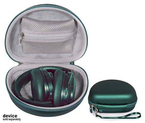 CaseSack Customized Headphones Protective Case for Skullcandy Crusher, COWIN SE7 Active Noise Cancelling Headphones Bluetooth Headphones Wireless Headphones (Dark Green)