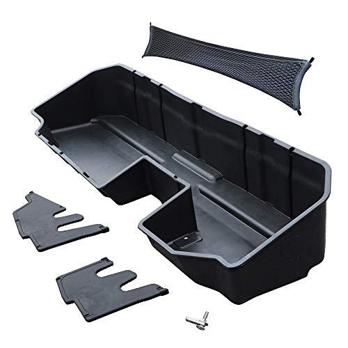 Tyger Auto Underseat Storage Box for 2019-2020 Chevy Silverado/GMC Sierra 1500; 2020 Silverado/Sierra 2500 3500 HD | Double Cab & Crew Cab New Body Style | Not for 2019 LD or Limited | TG-CB5C2278