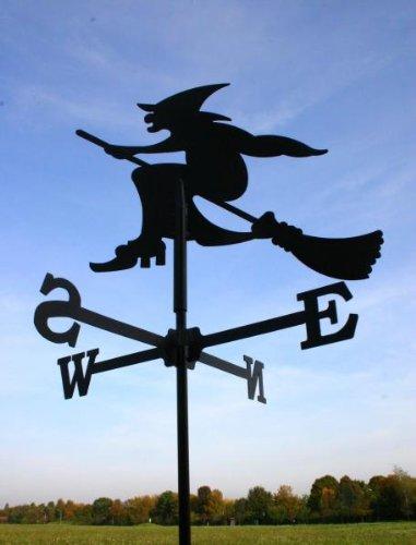 Wetterfahne Hexe in schwarz - von SvenskaV