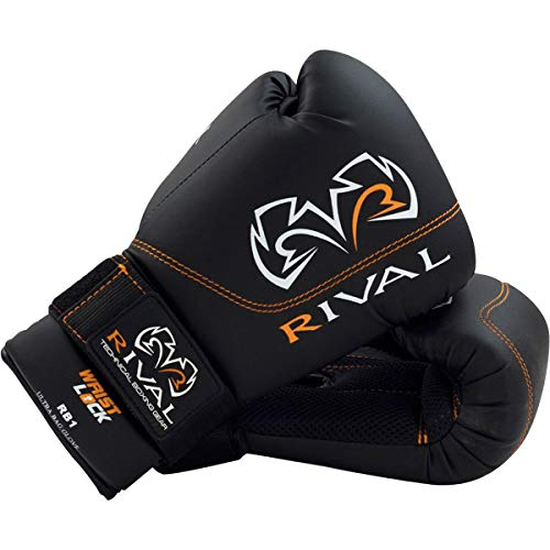 RIVAL Boxing Gloves-RB1 Ultra Bag Gloves (Red, 14oz)