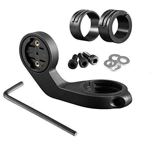 BlueBeach® Soporte de Bici Garmin GPS Computadora de Bicicleta Frontal para Manillar Bicicleta Kit de Sujección - Garmin Edge 20 / 25 / 200 / 500 / 510 / 800 / 810 / 1000