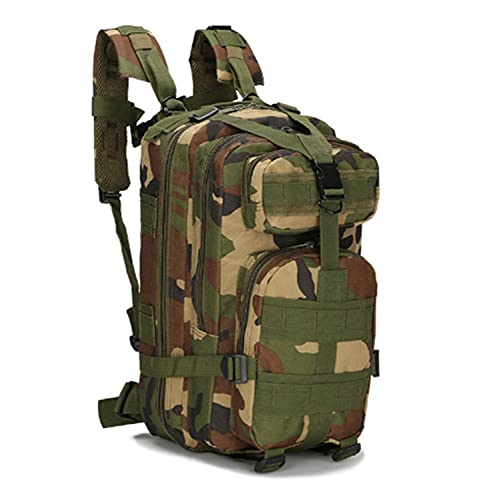 T-ara El Nuevo 20L Kickoff Aid Bag Backpack Trauma Rescuertes Herramientas Militar Táctica Bicicleta Bolsa de Emergencia Imprescindible para el Senderismo (Capacity : 20L, Color : Jungle)