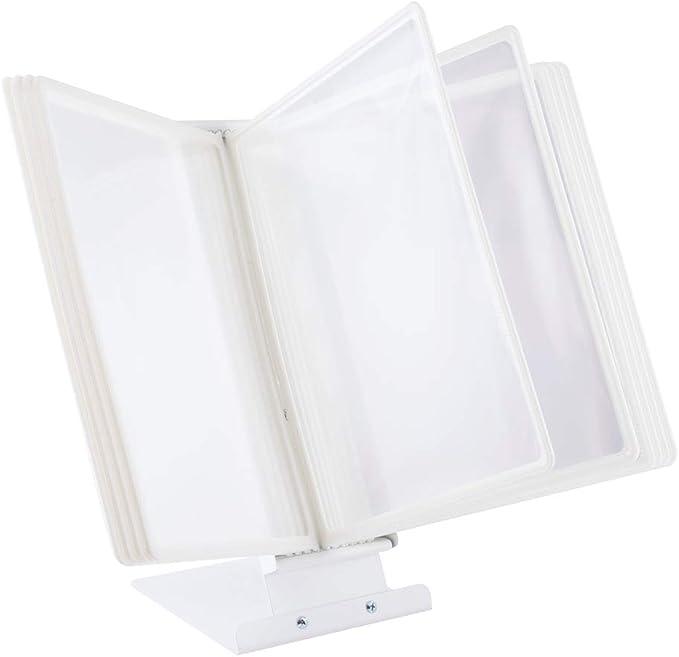 46 opinioni per LEVIATAN Leggio da Tavolo   10 Pannelli, Formato A4, colore bianco
