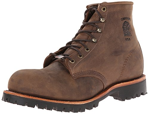 """Chippewa Men's 6"""" Steel Toe EH 20081 Lace Up Boot"""
