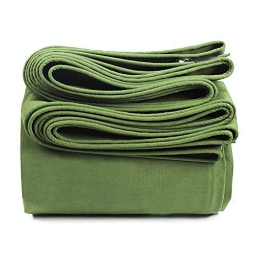 YaPin acolchado antisudor impermeable antilluvia exterior acolchado, camión, barco, camping, techo o piscina lona solar de piscina (0,85 mm 600 g / M2) disponible en varios tamaños verde