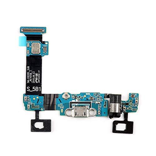 Compatible con Samsung Galaxy S6 Edge Plus + G928 G928F Flex Flat Dock Micro USB Repuesto Módulo Base Conector Dock Carga + Micrófono