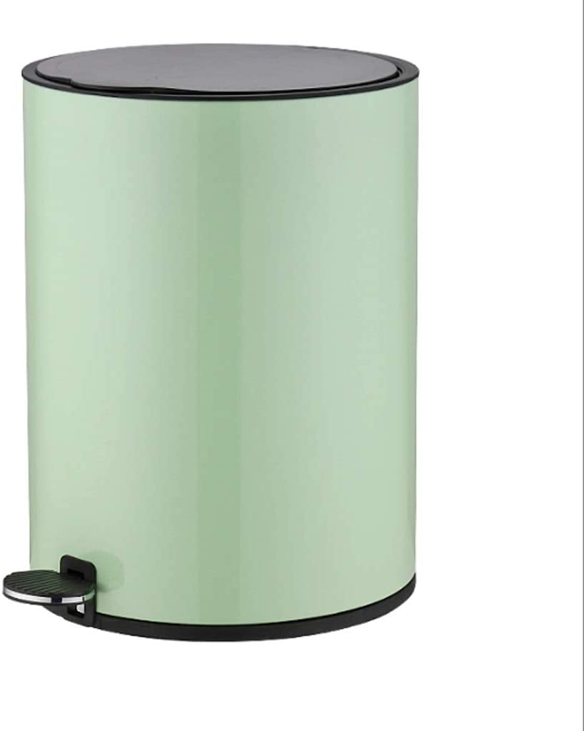 Waste bin Dustbin Home Stainless Steel wi Can Trash Finally resale start with Kitchen High quality new
