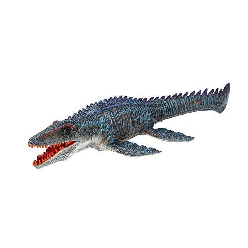Zerodis Adorno Modelo de Dinosaurio Marino, simulación de Figura de Dinosaurio de plástico Figuras de Animales Adorno de decoración de Oficina en casa Juguete para niños pequeños(Dinosaurio)