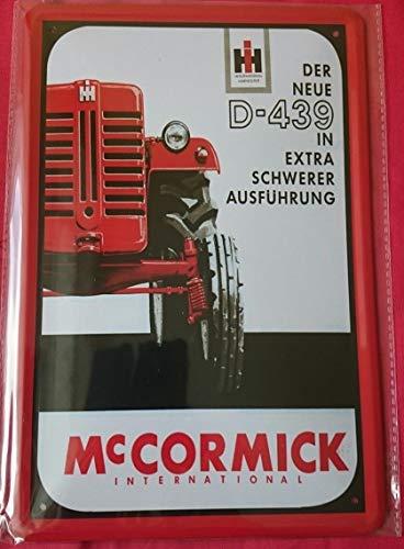 Froy McCormick Mc Cormick Traktor Bulldog Schlepper Wand Blechschild Retro Eisen Poster Malerei Plaque Blech Vintage Personalisierte Kunst Kreativität Dekoration Handwerk Für Cafe Bar Garage Hause