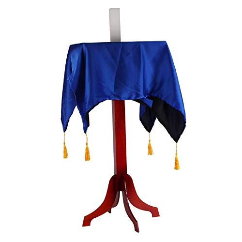 Bigbao - Mesa flotante para magos profesionales con funda de transporte, trucos de magia para magos de escenario trucos de trucos de etapa, levitación ilusión y mesa voladora (mesa cuadrada simple)