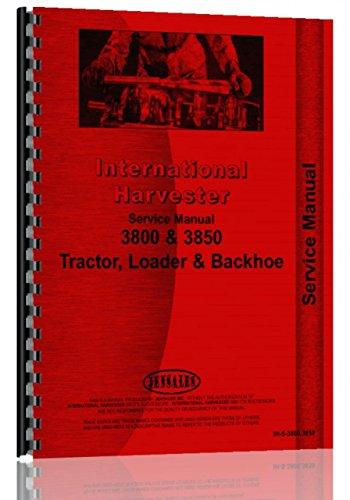 International Harvester 3800 Industrie-Traktor Service-Handbuch