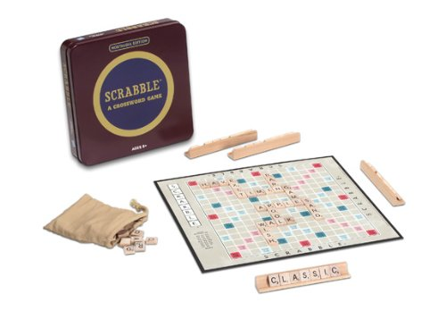 Winning Solutions Nostalgia Tin Scrabble Game
