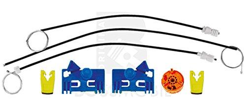 Bossmobil VEL SATIS, avanti destra, 4/5 porte, set riparazione per sollevatore di finestrino alzacristalli