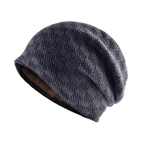 LQH Hombres al Aire Libre Hombre Headwear Hatie Sombrero Cálido Invierno Gorra...