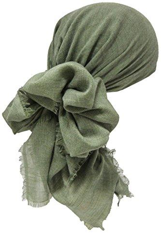 Deresina Headwear Saisonale Quadratische Kopftücher (Linum Khaki)