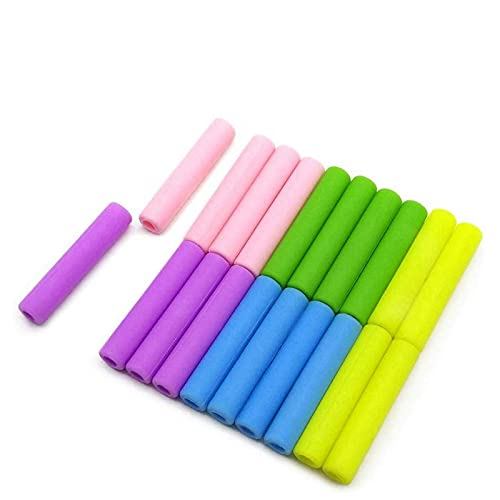 XDZW 10pcs Mixed Color Reusable Metal Drinking Straw with Cleaning Brush Colorful 304 Stainless Steel Straws for Party Favors Bar Accessory 10pcssiliconetips