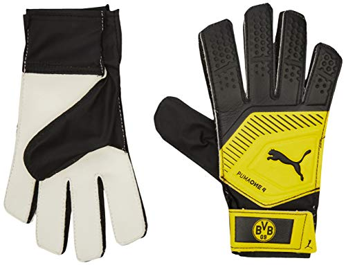 PUMA BVB One Grip 18.4 Torwarthandschuhe, Black-Cyber Yellow, 10